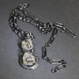 1779  Herkimer Front Necklace